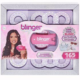 Blinger - Collection Shimmer, ensemble de luxe en prime - rose
