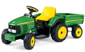 John Deere Power Pull W. Trailer 6V.
