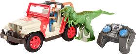 Jurassic World Jeep Wrangler Raptor Attack RC Vehicle