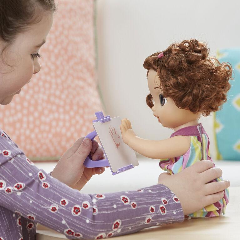 Baby Alive Finger Paint Baby (Brunette)