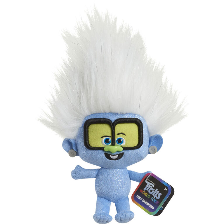 DreamWorks Trolls World Tour 8 Inch Small Plush Tiny Diamond