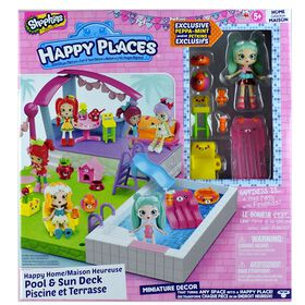 Shopkins Happy Places Happy Home Pool & Sun Deck
