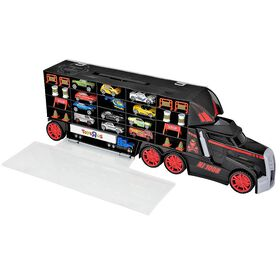 Fast Lane - Truck Carrying Case with 13 Vechicles