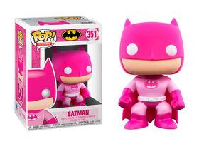 Figurine en Vinyle Batman par Funko POP! (La Sensibilisation au Cancer du Sein)