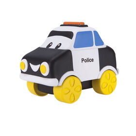 Bob the Train Police Car Push N Zoom Pal
