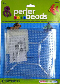 Perler Beads - Large Clear Square Pegboards