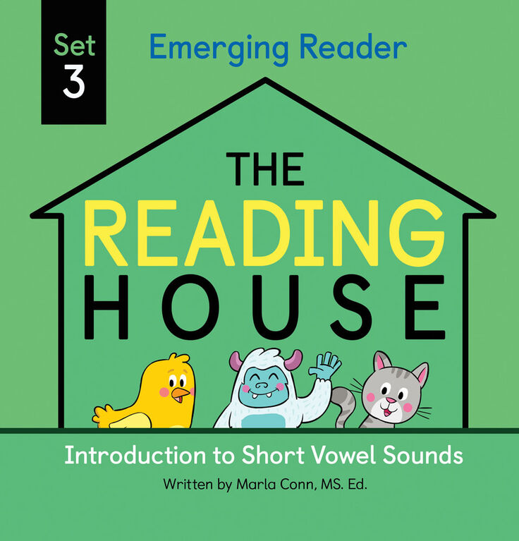 The Reading House Set 3: Introduction to Short Vowel Sounds - English Edition