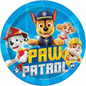 "Paw Patrol  9""  Plates, 8 pieces"
