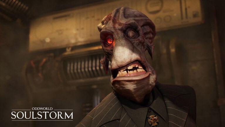 PlayStation 5 - Oddworld Soulstorm Day One Oddition