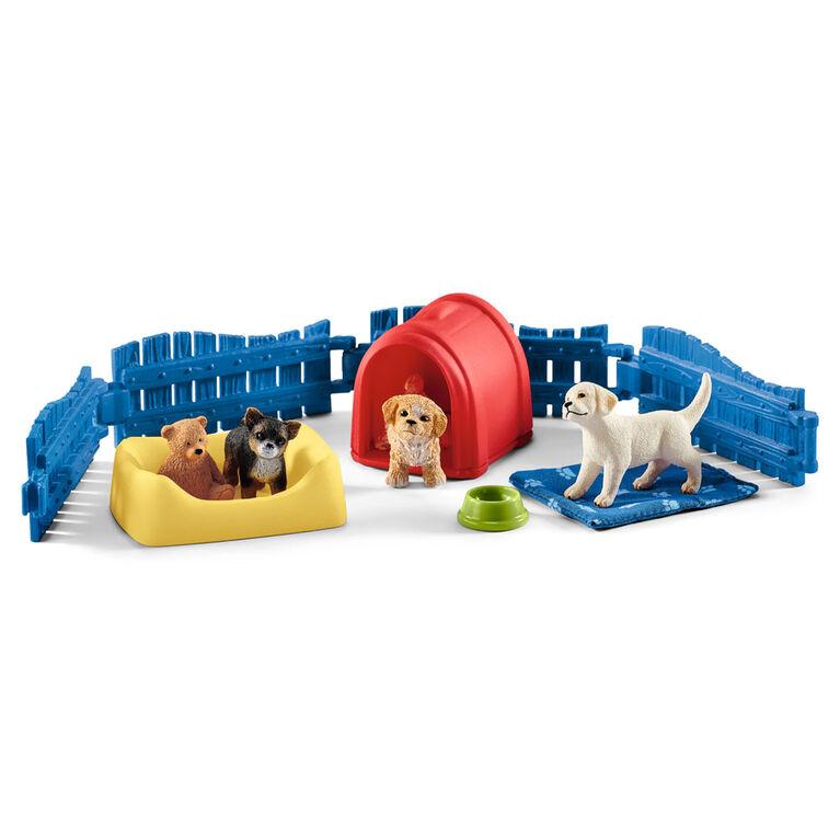 Farm World - Puppy Pen