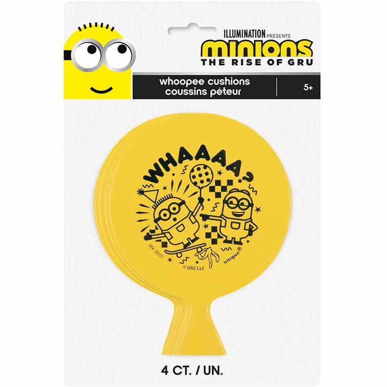 4 Coussins Peteur - Minions 2