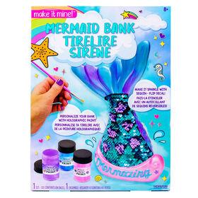 Make It Mine Mermaid Bank - R Exclusive