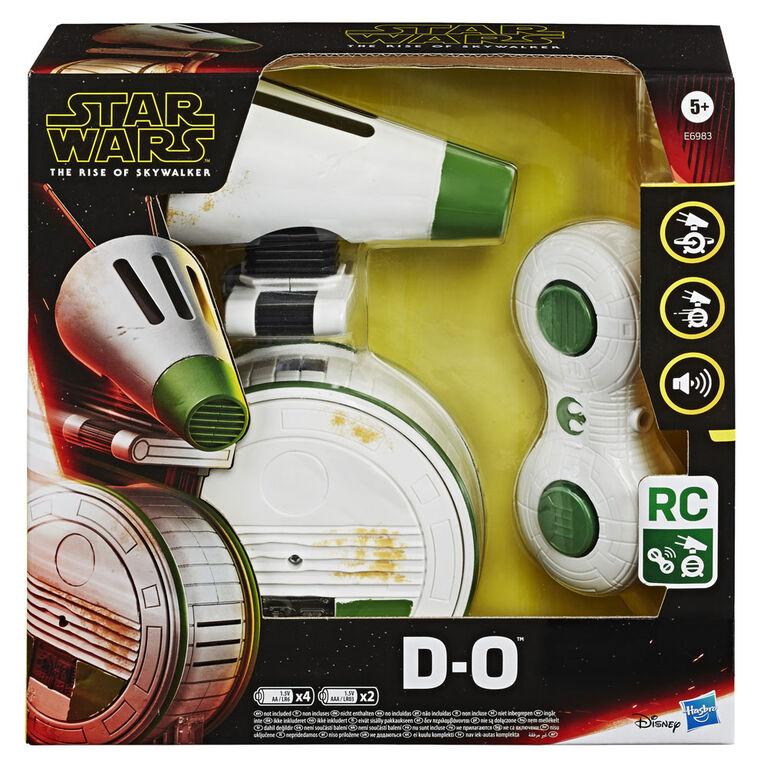 Star Wars, D-O téléguidé roulant: L'ascension de Skywalker, droïde électronique