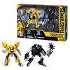 Transformers Buzzworthy Bumblebee Studio Series Deluxe Class 27BB Clunker Bumblebee vs. 28BB Barricade - R Exclusive