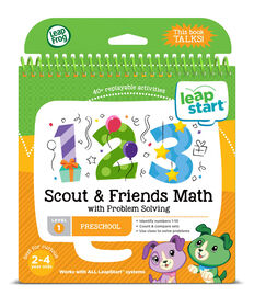 LeapFrog LeapStart Preschool Math Activity Book - English version