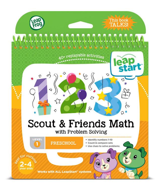 Livre d'activités pour la maternelle LeapStart de LeapFrog - Les mathématiques - Version anglaise