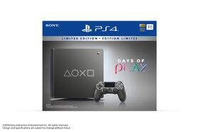 PlayStation 4 1TB Slim Days of Play Steel Grey