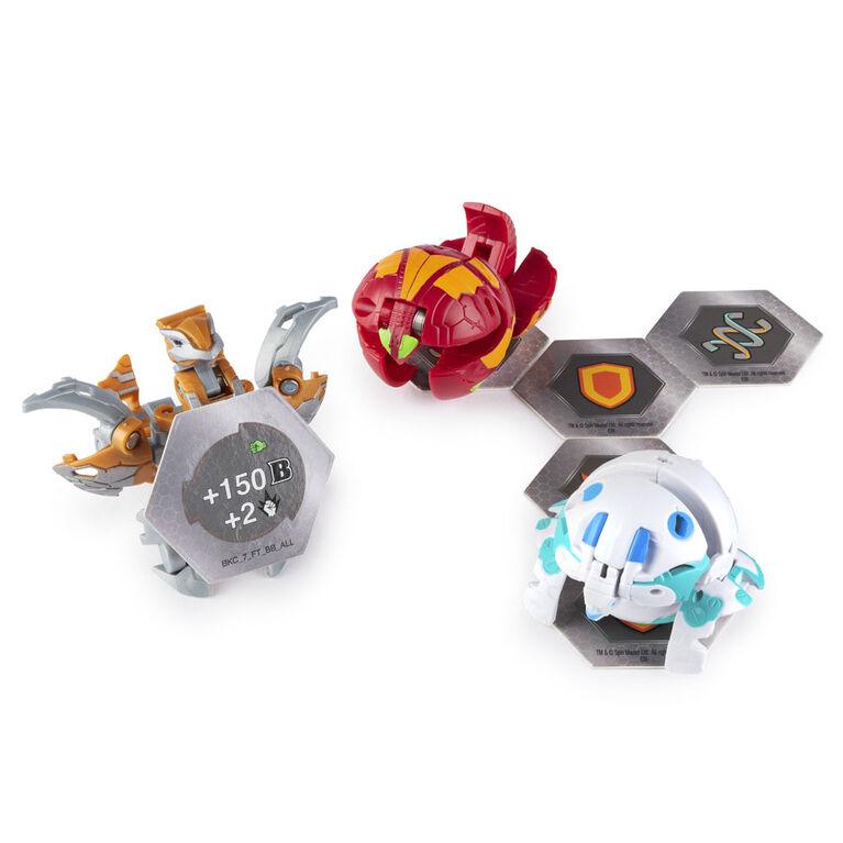 Bakugan, Starter Set Battle Brawlers avec créatures transformables Bakugan, Aurelus Nobilious