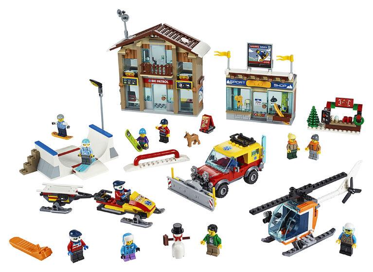 LEGO City Town Ski Resort 60203
