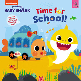 Baby Shark Time For School - English Edition