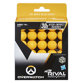 Overwatch Nerf Rival 30 Round Refill Pack for Overwatch Nerf Rival Blasters