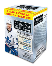 2018/19 NHL O-Pee-Chee Platinum Blaster