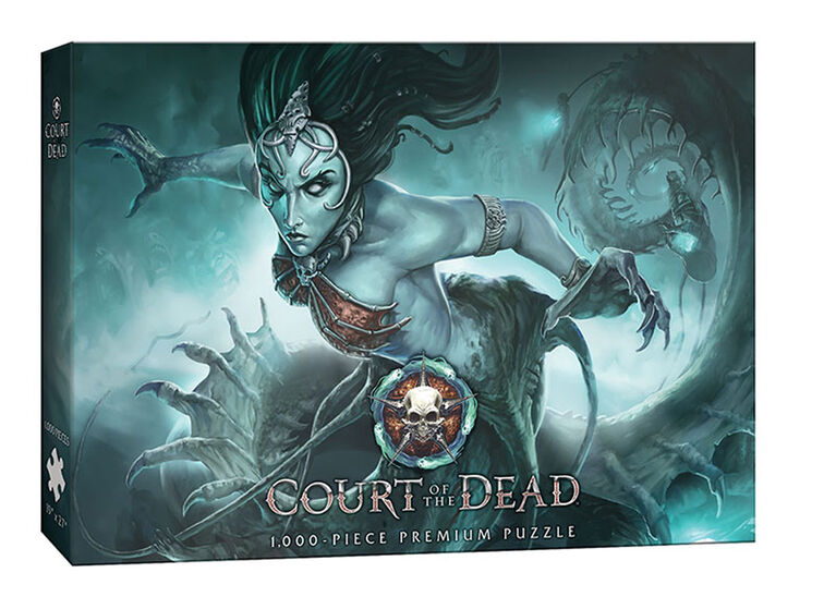 "Court of the Dead ""Death's Siren"" 1000 Piece Puzzle"
