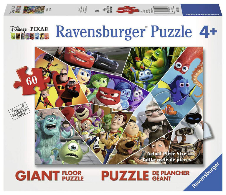 Ravensburger: Disney - Ultimate Pixar 60 Piece Floor Puzzle