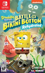 Nintendo Switch - Battle Bikini Bottom Rehydrated