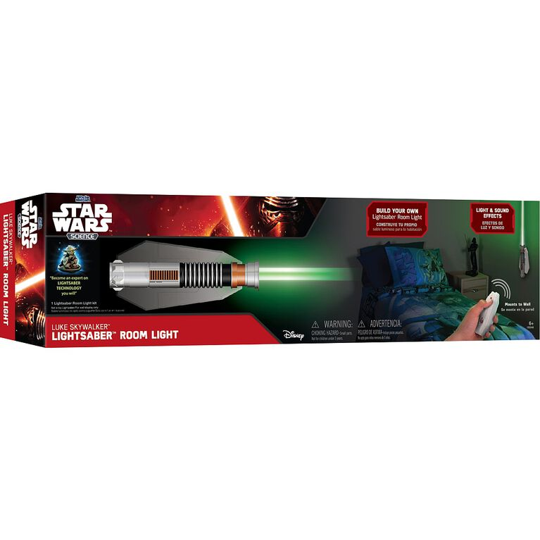 Star Wars Science - Lampe de chambre Sabre Laser de Luke Skywalker.