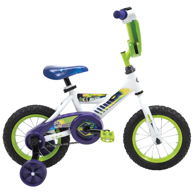 Huffy Disney Pixar Toy Story 14 inch (35cm) Bike with Buzz Lightyear