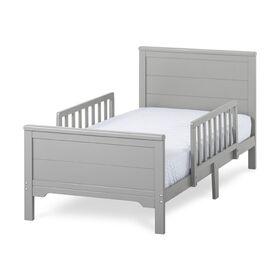 Lit pour tout-petit de lit Wilmington de Forever Eclectic, gris frais