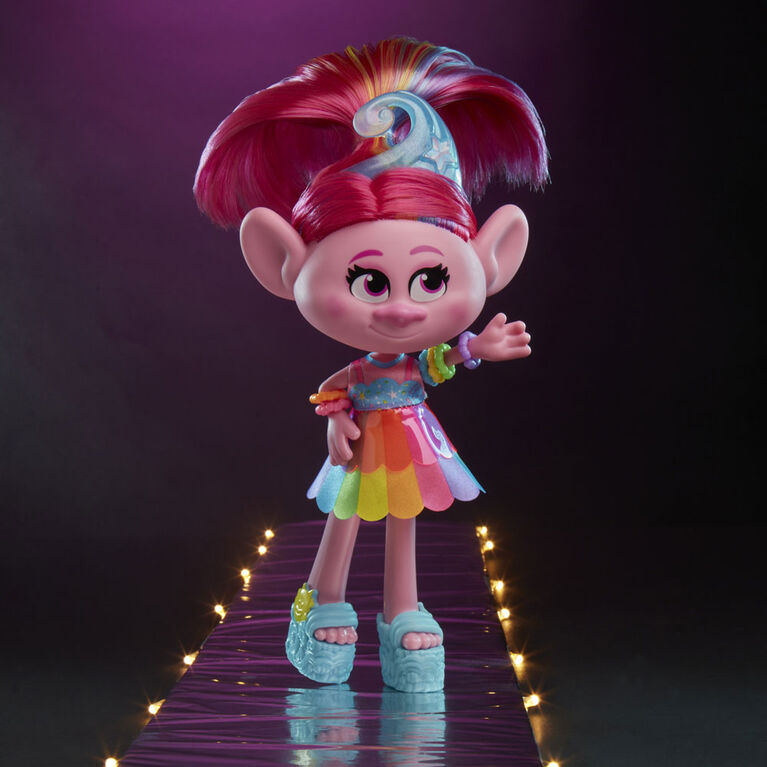 Les Trolls de DreamWorks, poupée Splendide Poppy