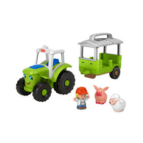 Fisher-Price Little People Caring for Animals Tractor - French Edition