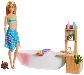 Barbie Fizzy Bath Doll and Playset