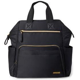 Skip Hop MainFrame Wide Open Diaper Backpack - Black