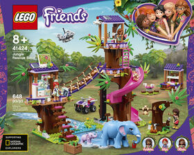 LEGO Friends La base de sauvetage dans la jungle 41424