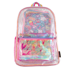 Fashion Angels - Sparkle Transparent Character Backpack