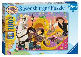 Ravensburger - Disney Tangled - Take on the World! Puzzle 100pc