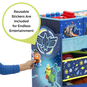 Disney/Pixar Toy Story 4 Design and Store 6-Bin Toy Organizer
