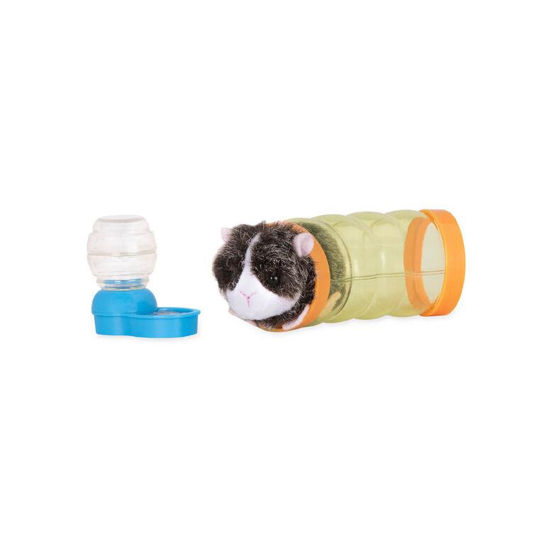 Our Generation, Pet Guinea Pig Set, Plush Pet for 18-inch Dolls