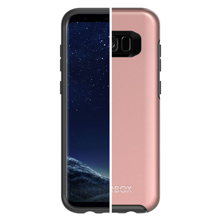 Étui Symmetry d'OtterBox pour Samsung GS8 Plus rose/or