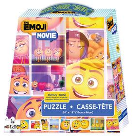 Emoji Movie 150 Piece XL Puzzle with Bracelet