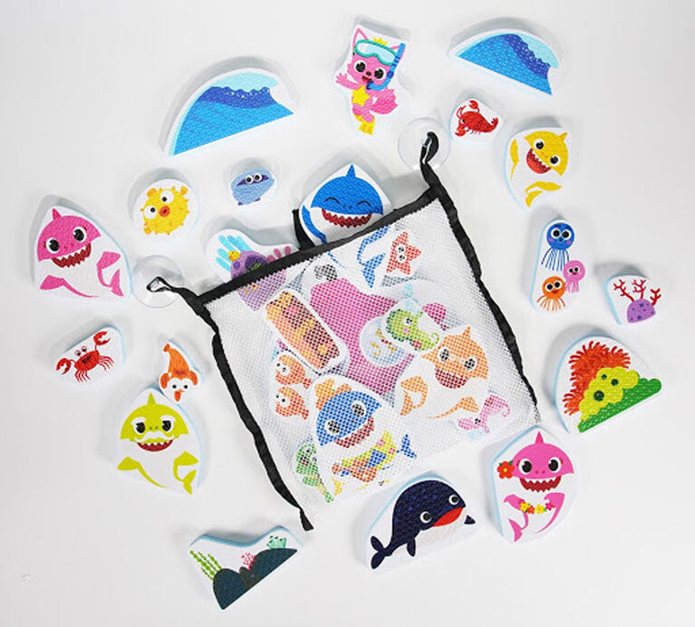 Baby Shark Bath Sticker Pack (30pcs)