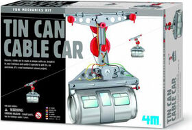4M Tin Can Cable Car - English Edition