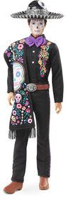 Barbie - Poupée Ken Dia De Muertos 2021, 30cm, chemise brodée, sarape