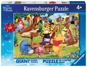 Ravensburger - Winne the Pooh Magic Show 60pc Floor Puzzle