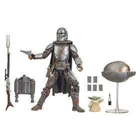 Star Wars The Black Series - Din Djarin (le Mandalorien) et L'Enfant - Notre exclusivité