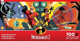 Ceaco: Incredibles 2 Disney Panoramic 2 Puzzle 700 Piece