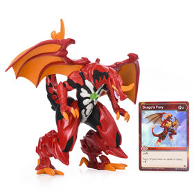 Bakugan, Dragonoid, 6.5-Inch Collectible Action Figure with Foil Ability Card